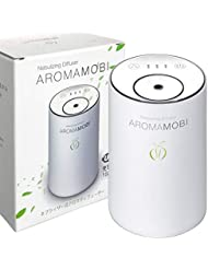 funks AROMA MOBI 充電式 アロマディフューザー ネブライザー式 ホワイト