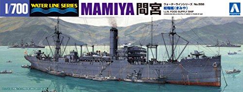 青島文化教材社 1/700 ウォーターラインシリーズ 日本海軍 給糧艦 間宮 プラモデル 558