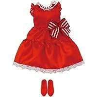 リカちゃん ドレス LW-02 真っ赤なワンピース