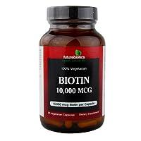 海外直送品Futurebiotics Biotin 10000 mcg, 90 VCaps 10000 mcg