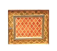 MARRAKECH モロッコ風家具 壁 床用ステンシル 塗装用 Furniture Large クリア