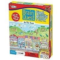 Brain Quest Colorforms Puzzle - 48 pc by University Games