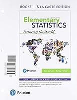 Elementary Statistics: Picturing the World Books a la Carte Edition (7th Edition)【洋書】 [並行輸入品]