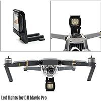 chartsea startrc 3dプリント拡張Landing Gear with LED lights for DJI Mavic Proドローンパーツ L charts_DRESS-0803121434