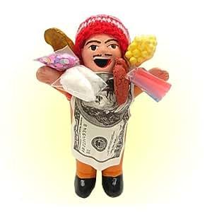 【エケコ人形】世界仰天○ュースで紹介!幸せを呼ぶ願いを叶えてくれる?!エケッコー人形 Mサイズ   民芸品 通販