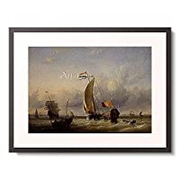 Storck, Abraham J,1635-1710 「Marine.」 額装アート作品
