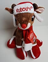 Rudolph the赤Nosed Reindeer 12 Plush Toy with帽子、スカーフ&ブーツby Rudolph the赤Nosed Reindeer