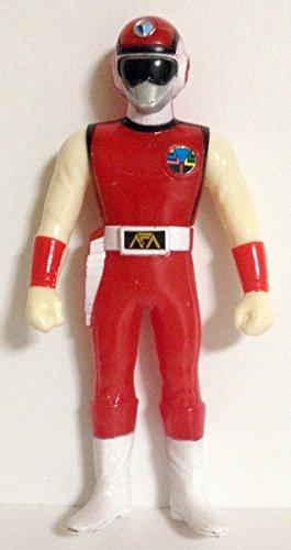 戦隊ヒーロー ソフビ 超新星フラッシュマン レッドフラッシュ