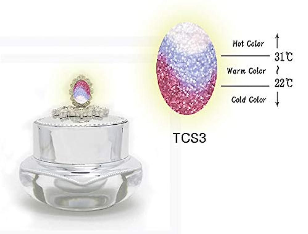 セント簡単な貢献するKENZICO (ケンジコ) Triple Sugar Gel プロ用5g 【TCS3】 3つの色に変わる夜光ジェル トリプルシュガージェル