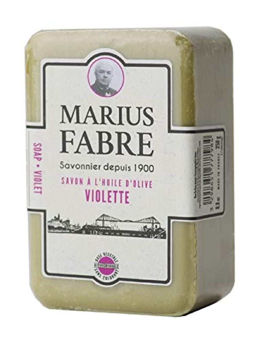 絶えずステッチ信頼性サボンドマルセイユ 1900 バイオレット 250g