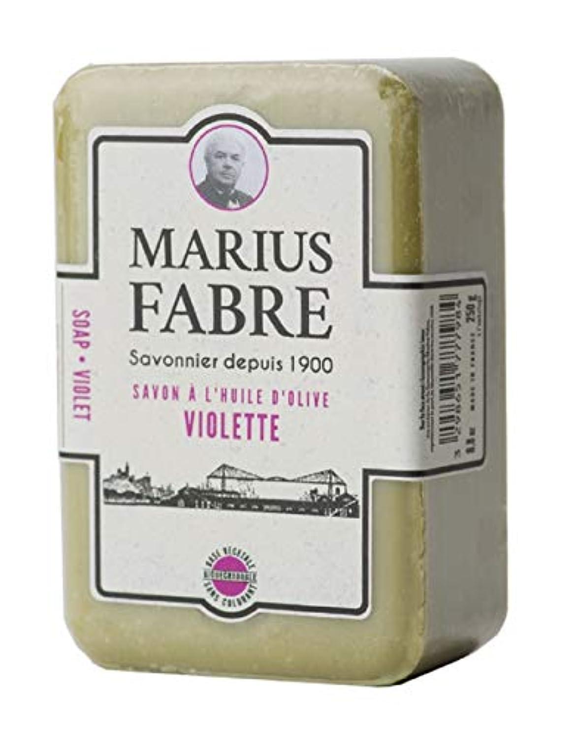 収穫所持和らげるサボンドマルセイユ 1900 バイオレット 250g