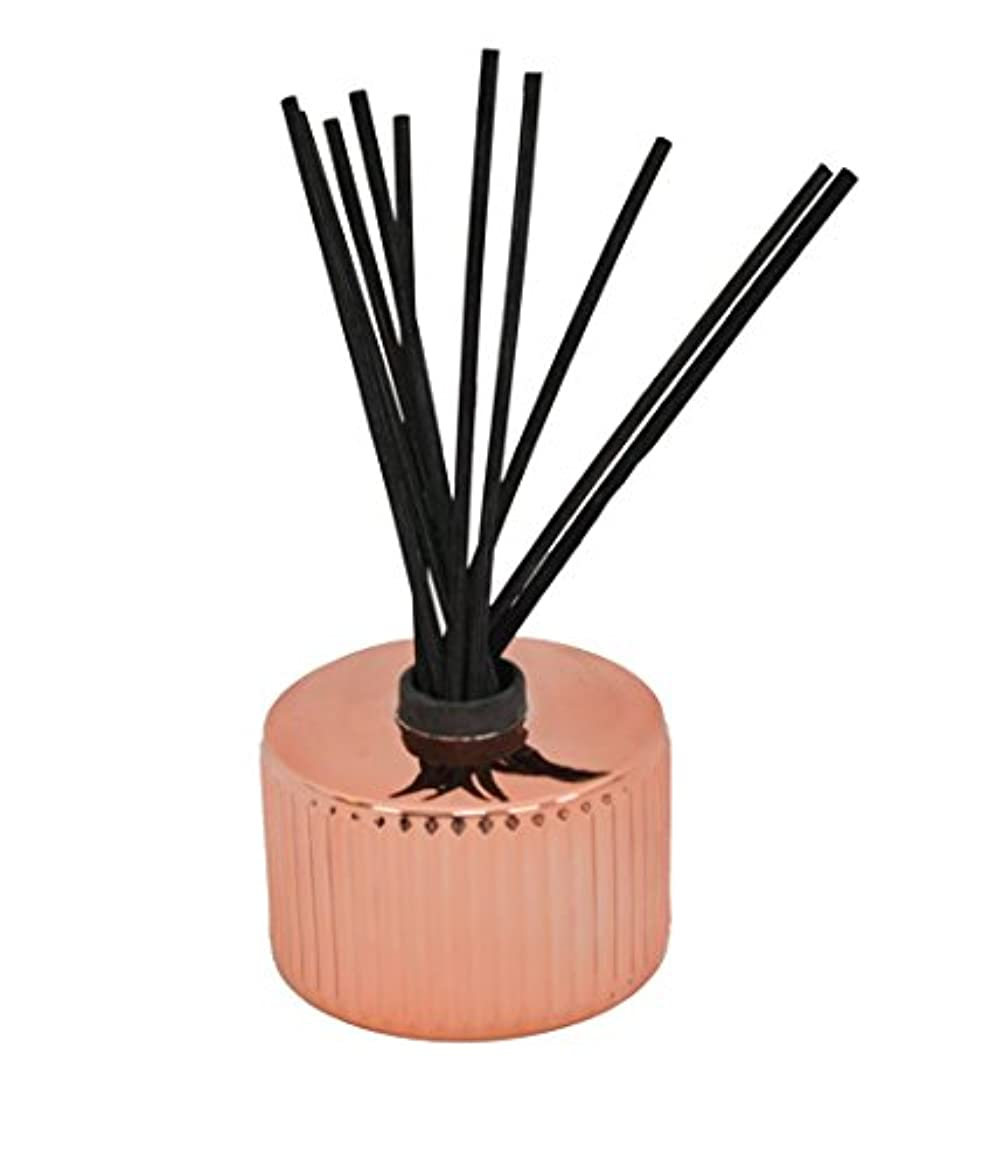 バクテリア倫理驚Capri Blue Gilded Muse Reed Diffuser - Pink Grapefruit & Prosecco 230ml/7.75oz並行輸入品