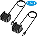 CAVN Charger Cable Compatible with Fitbit Versa 2 (Not for Versa), Replacement USB Charging Cable Cord Cradle Dock Accessories for Versa 2 Smartwatch Only