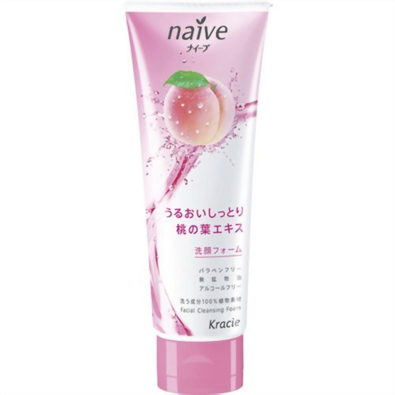 看板洞察力潤滑するナイーブ 洗顔フォーム (桃の葉エキス配合) 110g