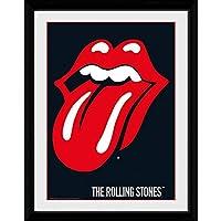 ROLLING STONES ローリングストーンズ (Let It Bleed50周年記念) - Lips/額入りフォトボード/インテリア額 【公式/オフィシャル】
