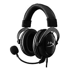 Kingston HyperX Cloud II Gaming Headset for PC and PS4 - Gun Metal (KHX-HSCP-GM)