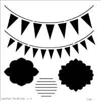 """Crafter's Workshop Template 6""""X6""""-Circus Banners (並行輸入品)"""