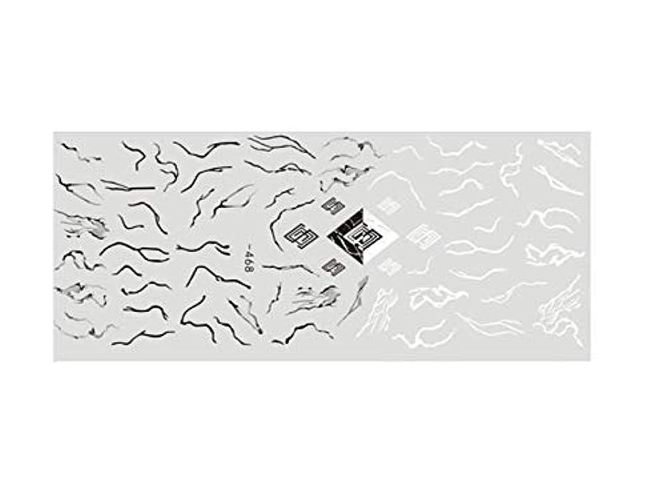 修復会計ルネッサンスOsize ファッションカラフルな花ネイルアートステッカー水転送ネイルステッカーネイルアクセサリー(ピンク)