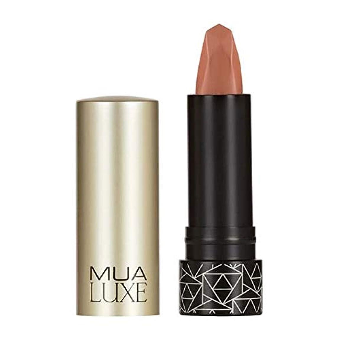 スクリュー破壊的な司法[MUA] Muaラックスベルベットマットリップスティック#10 - MUA Luxe Velvet Matte Lipstick #10 [並行輸入品]