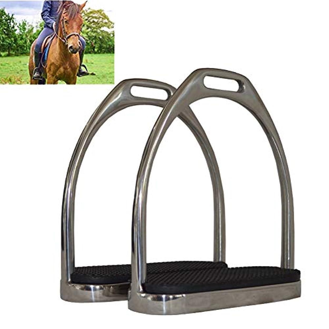 トロリー注意考慮簡単な鉄の安全鋳造に乗っ反射広軌の馬軽量サドル ステンレス鋼の高強度の安全鐙,1