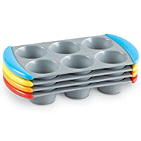 (1) - Learning Resources Sorting Muffin Pans, Set of 4