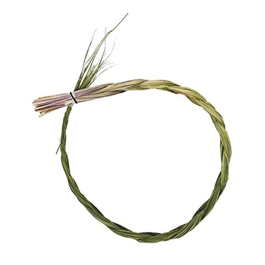 マインド難破船振動させるAlternative想像力Sweetgrass Incense三つ編み、Extra Largeサイズ、長さ24インチ