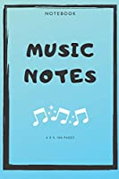 Notebook : Music Notes