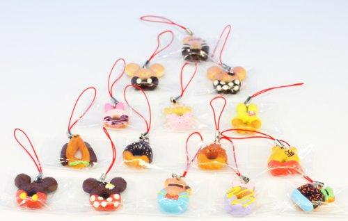 ディズニーキャラクター ドーナツマスコット DONUTS DISNEY 食玩 リーメント(全15種セット)