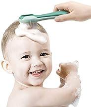 ベビーブラシくしセット柔らかいナイロンブラシ新生児頭皮マッサージベビーギフト