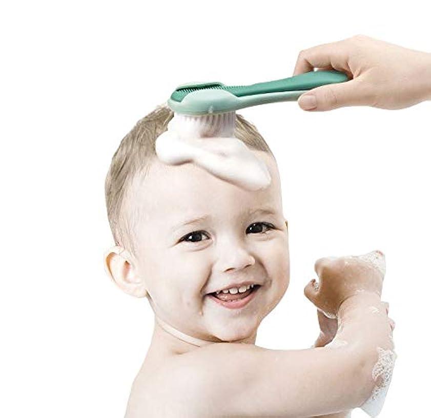 より多いぐるぐるトロピカルベビーブラシくしセット柔らかいナイロンブラシ新生児頭皮マッサージベビーギフト