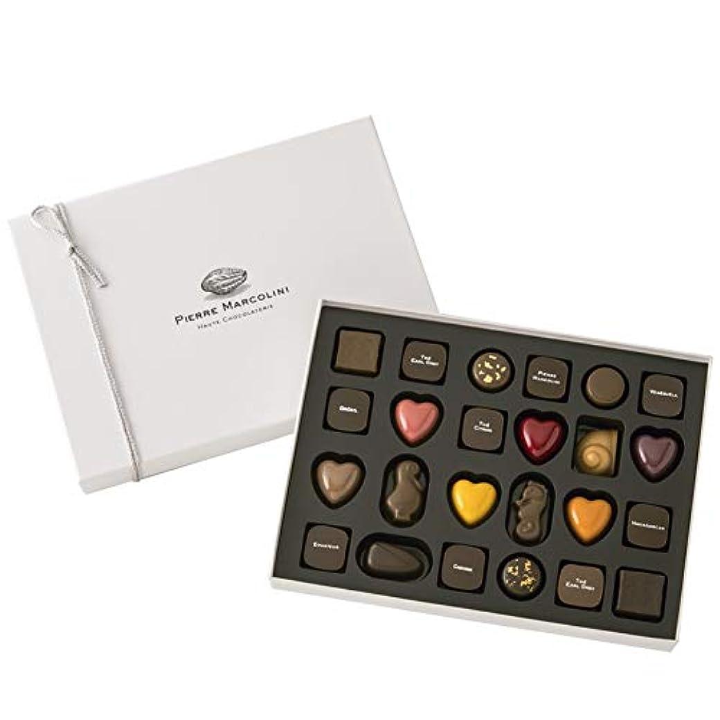 素晴らしい良い多くの指アリーナピエールマルコリーニ チョコレート バレンタイン プラリーヌアソート バレンタイン セレクション 24個入り