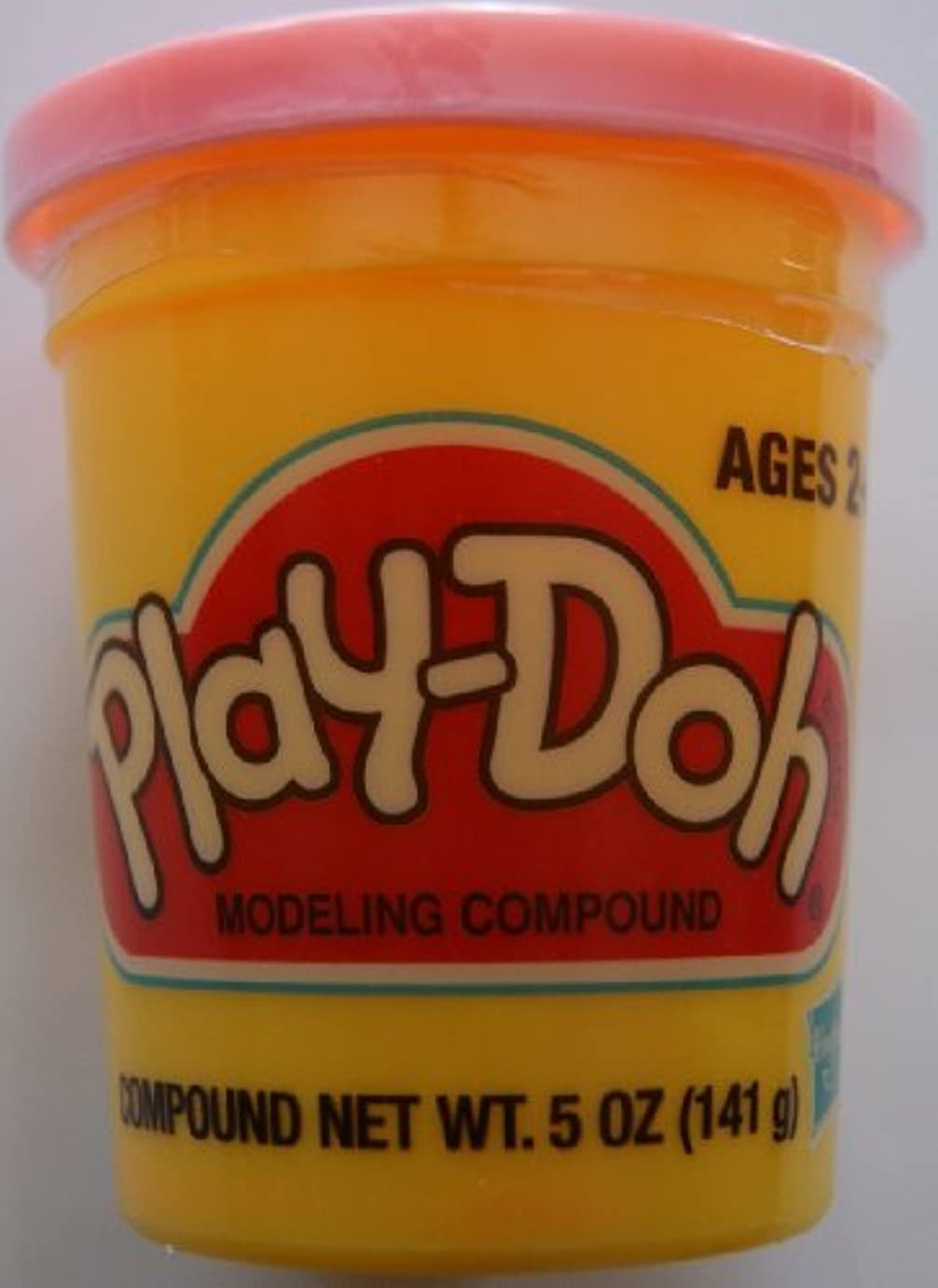 PLAY-DOH PlayDoh Compound (Peach) Pink Single 150ml Can 23861 by Play-Doh