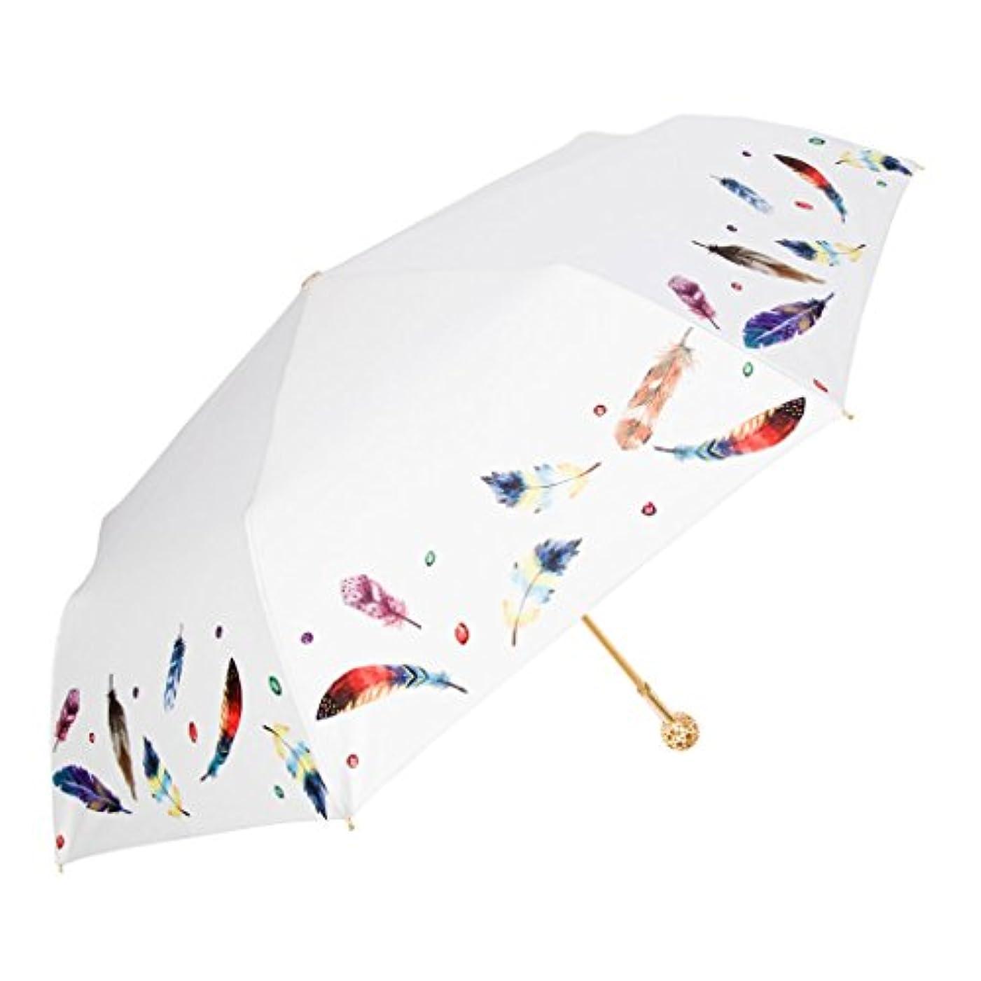 郵便屋さん綺麗な大宇宙傘フラワーボールレディトリフォールディングクリエイティブサンパラソルサンUVプロテクション (Color : White)