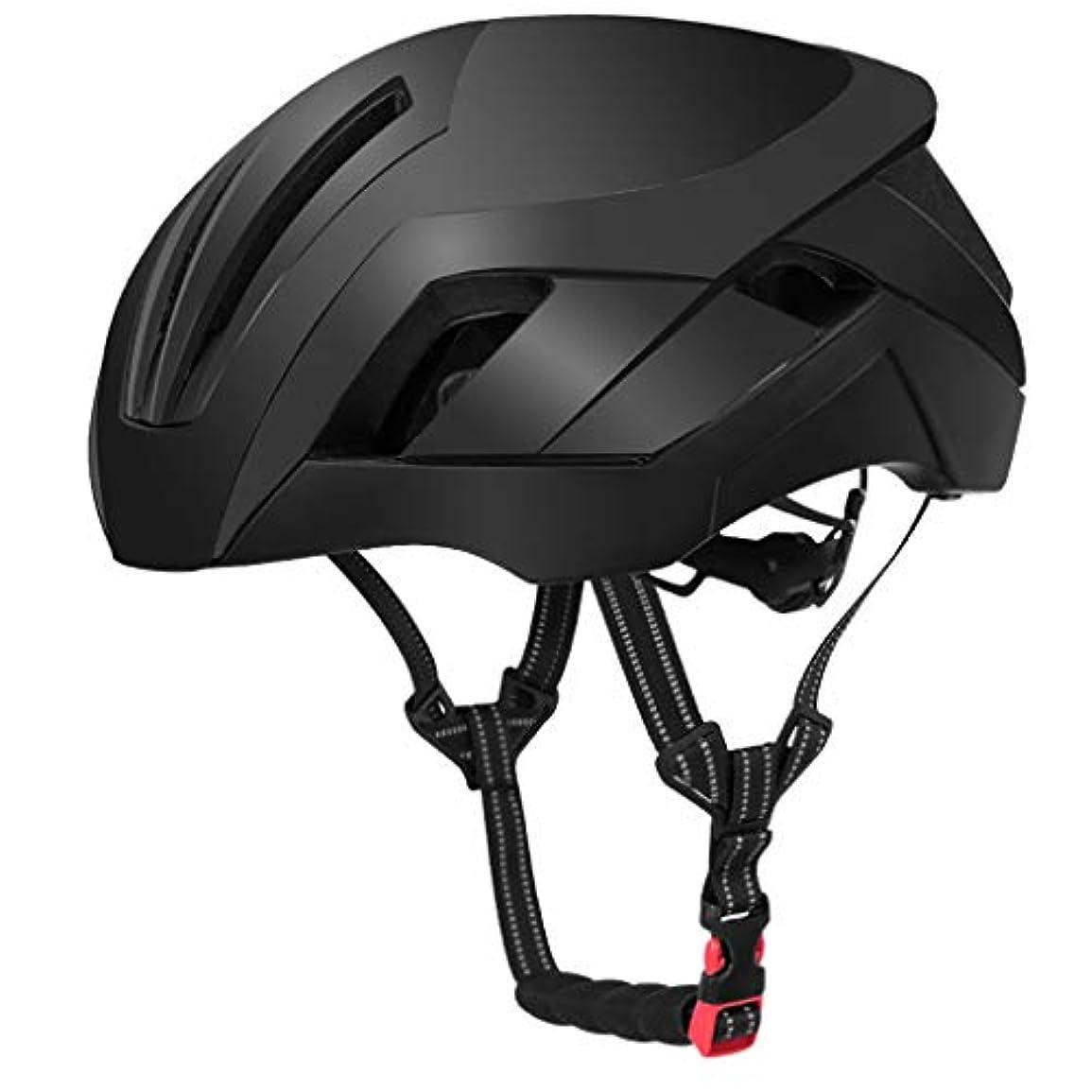 擬人化写真撮影気を散らすマウンテンバイクヘルメット、サイクルヘルメット、スポーツ安全ヘルメット (色 : C, サイズ さいず : M(57-62CM))