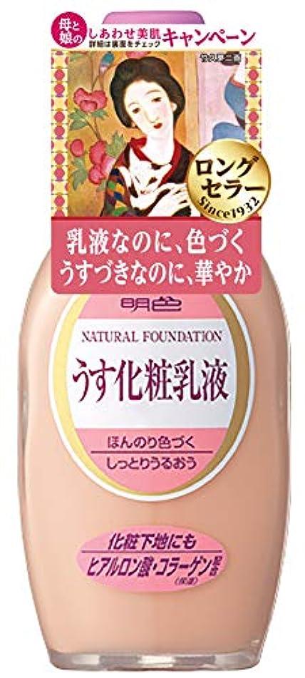 ドット背景強調する明色シリーズ うす化粧乳液 158mL (日本製)
