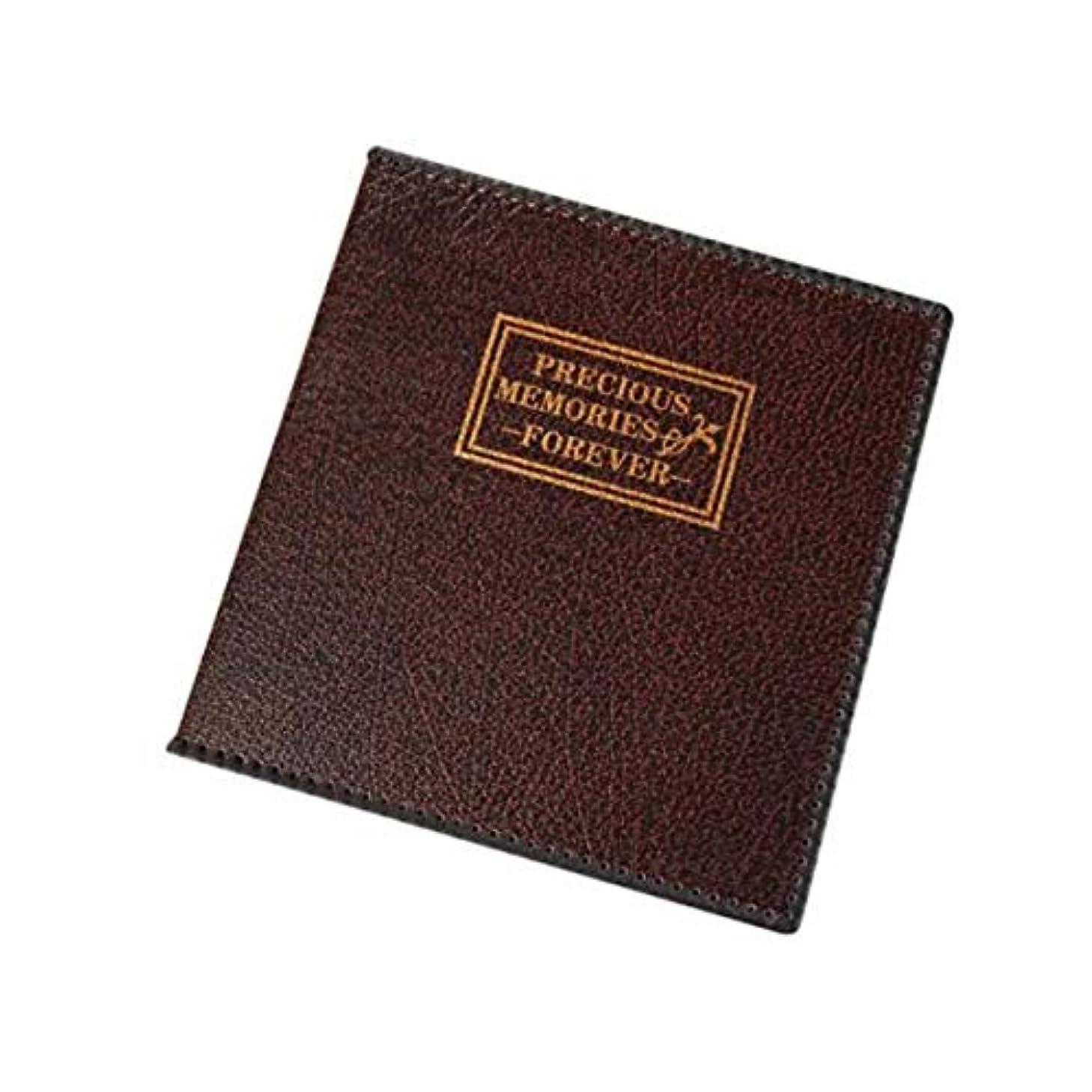 発掘するそんなに大宇宙GYHS アルバムアルバムPUレザーフォトアルバム1?12インチの大容量貼り付け型ラミネートアルバムアルバム結婚アルバム35 * 34.5 * 5センチメートル (Color : Brown, Size : 35*34.5*5cm)