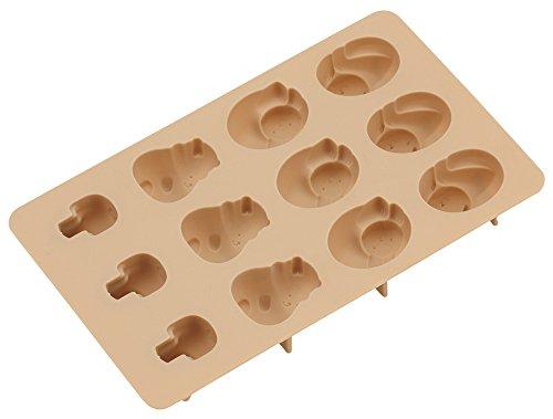 貝印 KAI チョコ型 COOKPAD タルトカップ で のんびり どうぶつ DL8023