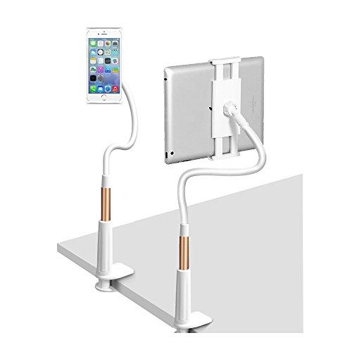 Unique Spirit タブレットipad スタンド アーム アイパッド ホルダー ごろ寝 スタンド 寝ながらスタンド 強力 モニタースタンド ipad mini アーム タブレット固定アーム android ipad air2 ipad mini 4 フレキシブルアーム タブレットスタンド