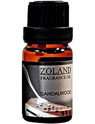 Kweetop エッセンシャルオイル お試しセット 10ml AEAJ認定精油 表示基準適合認定精油 (Sandalwood)