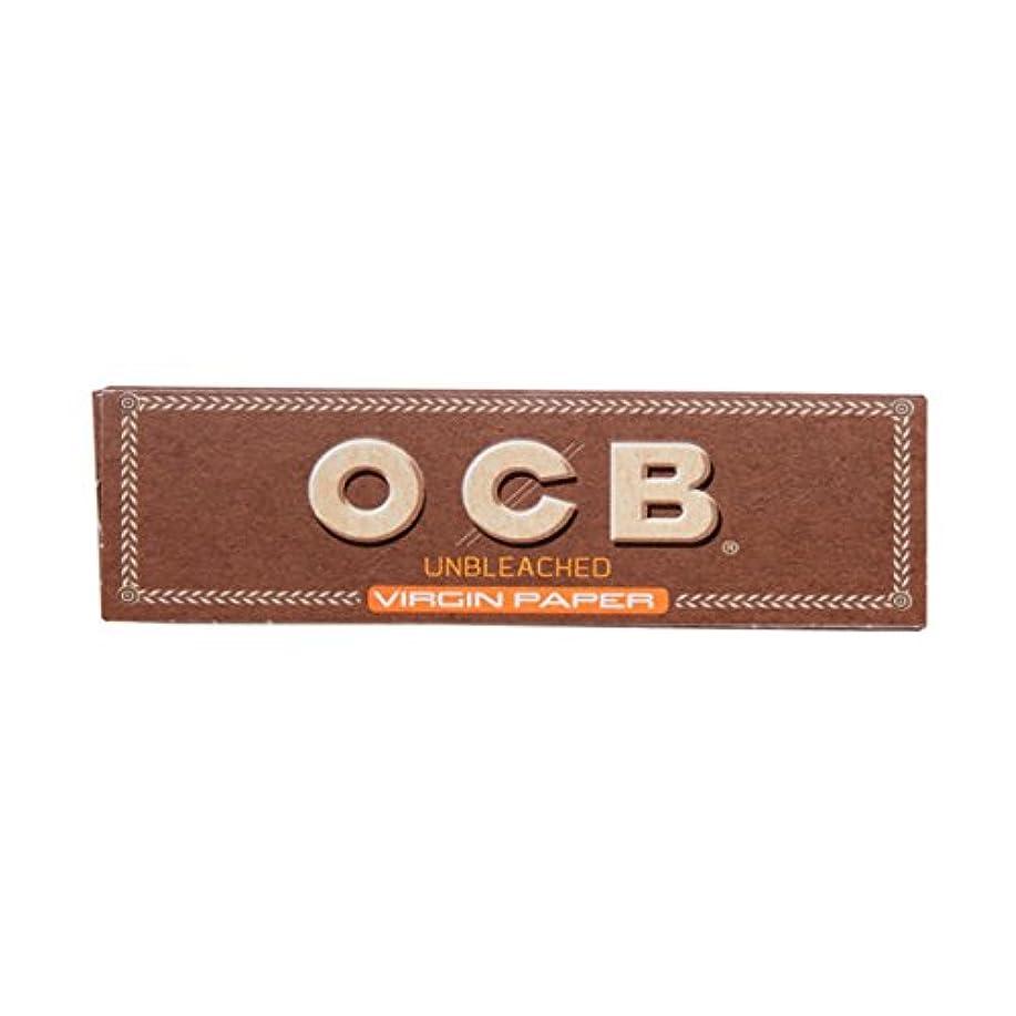振動する科学増加する[箱買い商品] OCB(オーシービー)ブラウン シングル(70mm)ペーパー 50枚入り 1箱(50個入り) スローバーニング #78889