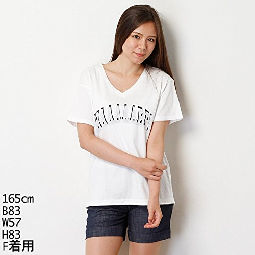 179/WG(179 WG) 「mini」・「CHOKiCHOKiGiRLS」9月号掲載 クラックプリントパウダー半袖ティーシャツ【オフ/FREE】