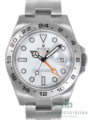 ロレックス ROLEX エクスプローラーII 216570 ホワイト [並行輸入品]