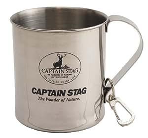 キャプテンスタッグ BBQ用 マグカップ レジェルテ ステンレス 300mlスナップ付M-1244