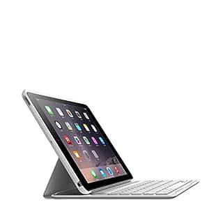 【正規代理店】belkin iPad Air2対応キーボードケース バックライト付 QODE™ Ultimate Lite ホワイト  F5L176QEWHT