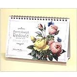 ルドゥーテ卓上カレンダー2012年度版薔薇/バラ/ばら/ローズ/rose