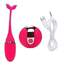CJH ワイヤレスリモートコントロールミュートジャンプエッグ女性のデバイスセックス玩具カップルSmアダルトセックスおもちゃ赤
