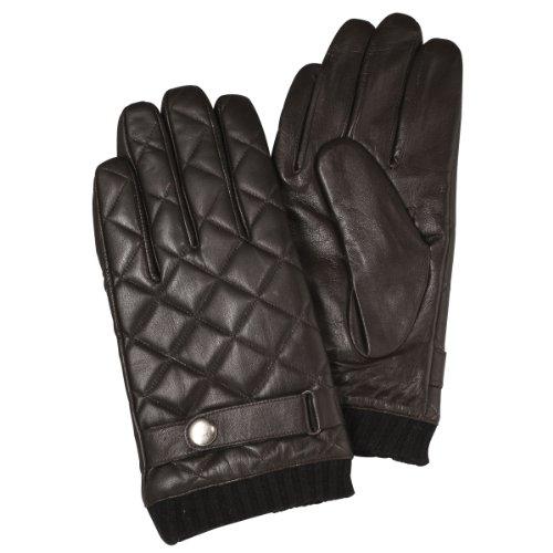 (フランコ コレツィオーニ)Franco Collezioni FC メンズラム革手袋 SMA051 40693  ブラウン FREE