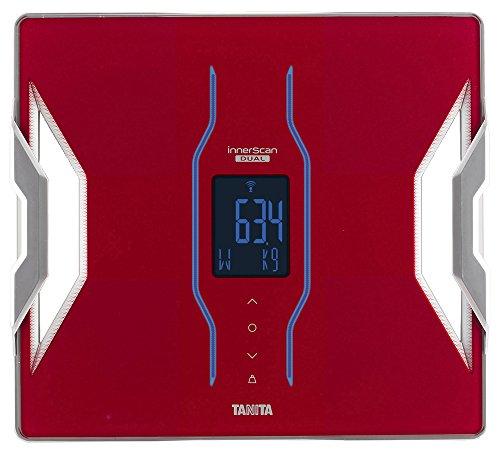 タニタ 体組成計 スマホ 日本製 レッド RD-906 RD 医療分野の技術搭載/スマホでデータ管理 インナースキャンデュアル