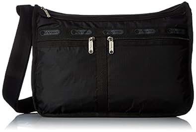 [レスポートサック] LeSportsac ショルダーバッグ(Deluxe Everyday Bag) 7507 5982 (Black) [並行輸入品]