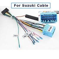 AL C106 カーラジオ ISO ケーブル ISO For Suzuki AL-AA-7352-T003